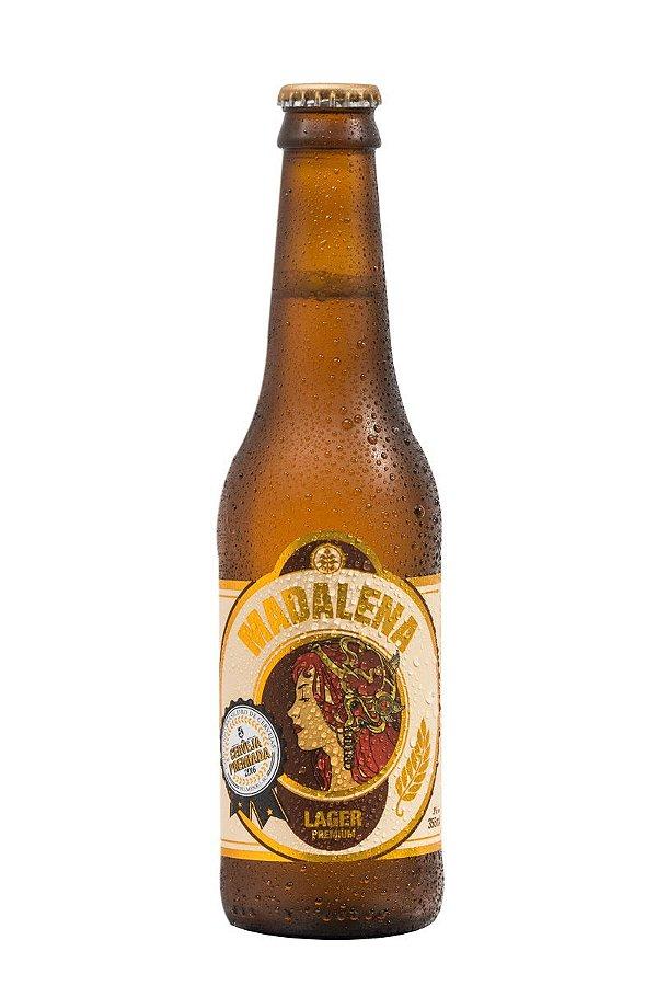 Cerveja Madalena Lager Premium - 355 ml