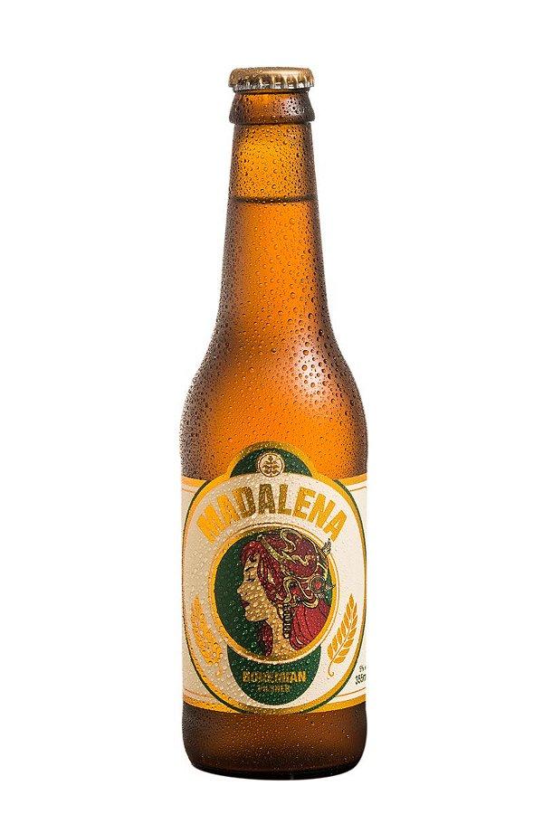 Cerveja Madalena Bohemian Pilsner - 355ml