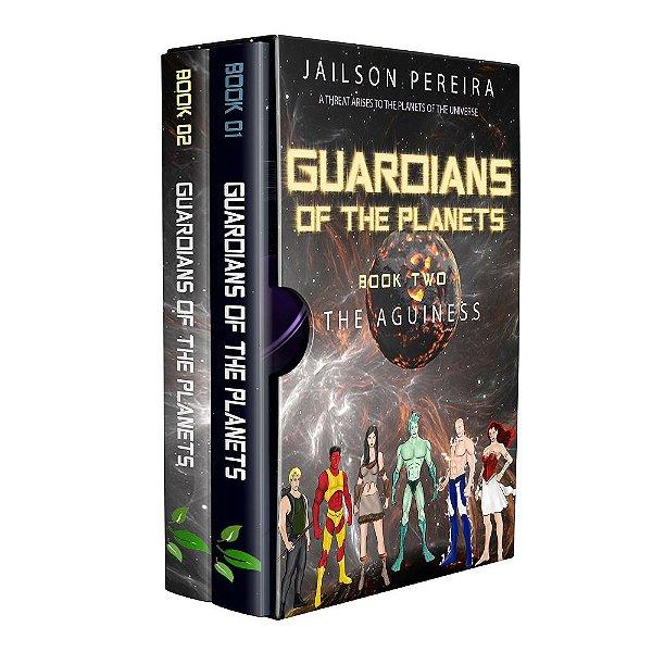 Box Guardians of the Planets Ebooks - Author Jailson dos Santos Pereira