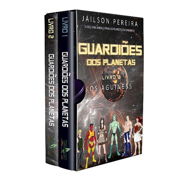 Ebook Box Guardiões dos Planetas - autor Jailson dos Santos Pereira