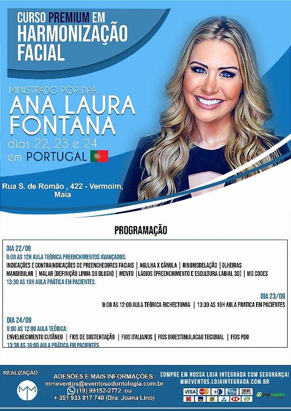 Curso Premium em Harmonização Facial em Portugal