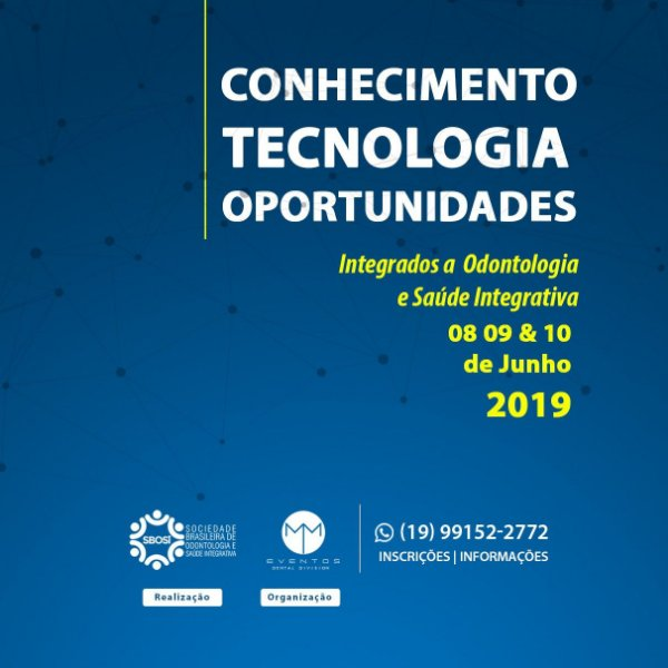 2º Congresso Internacional de Odontologia e Saúde Integrativa - Portugal 8,9 e 10 de Junho de 2019