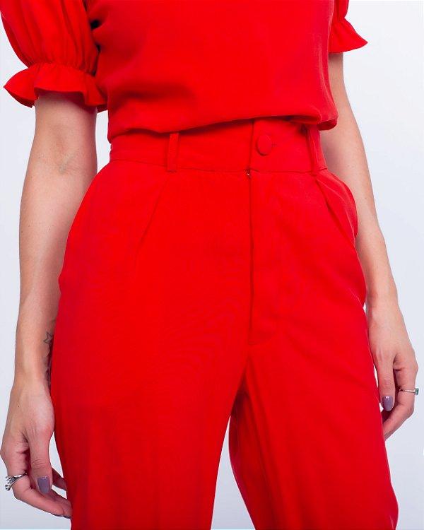 Calça Julia Vermelha