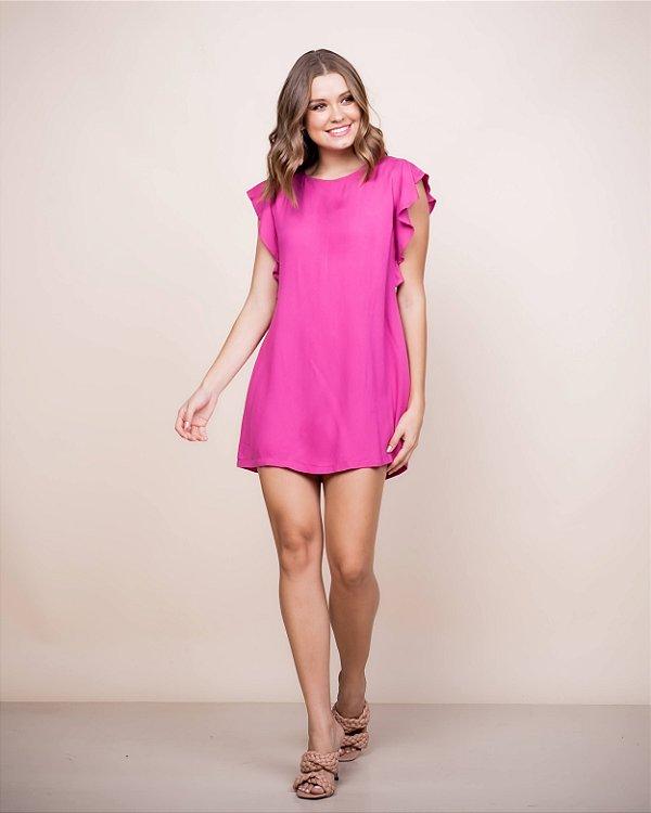 Vestido Beatriz Viscose Pink