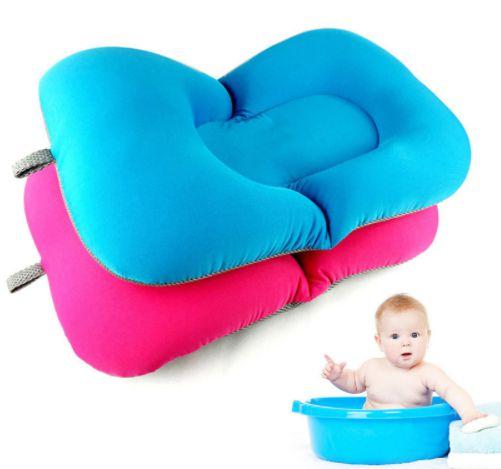 Almofada para banho do bebê