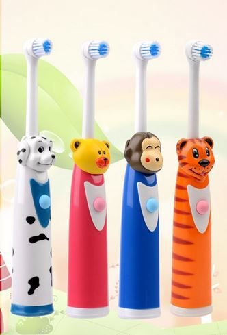 Escova de dentes elétrica a prova dágua