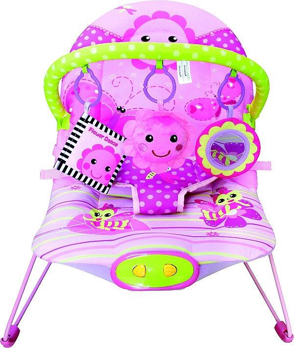 Cadeira de descanso musical - Flores