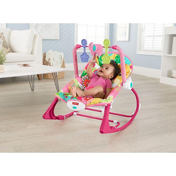 Cadeira de balanço minha infância tigre - Fisher Price