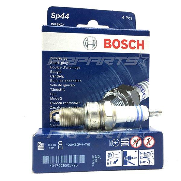 Jogo de Velas Bosch - F000KE0P44 - SP44 -  WR 8 KC+