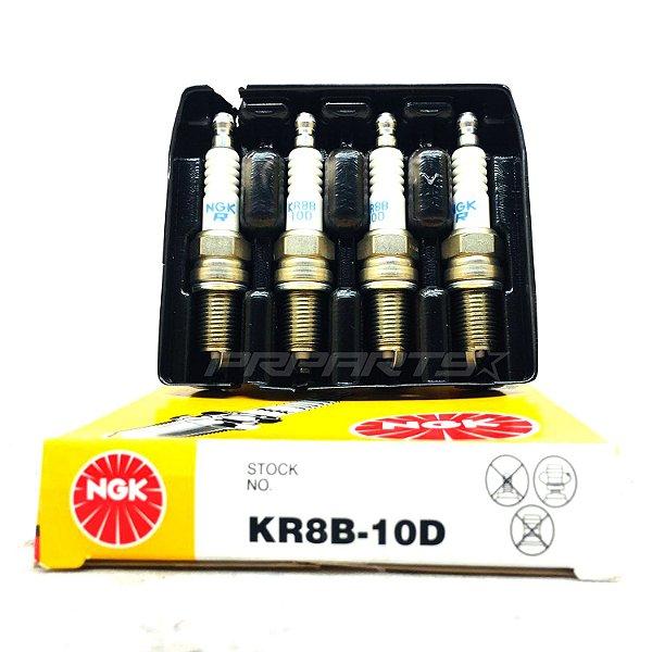 Jogo Velas Ignição NGK KR8B10-D