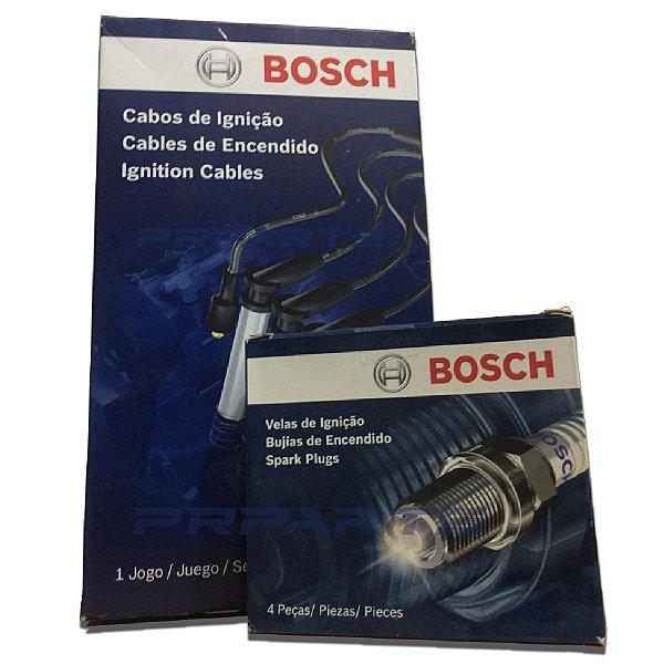Cabos + Velas Bosch Hyundai I30 2.0 Gasolina 2007 até 2013