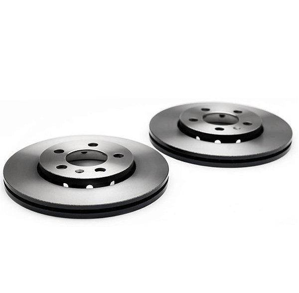 Par disco de freio Dianteiro Hyundai Hb20 Hb20x Novo Hb20 1.6 16v Trw