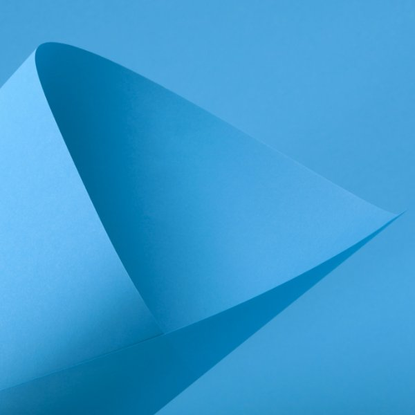 Papel Color Fluo Blue