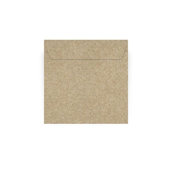 Envelope para convite | Quadrado Aba Reta Kraft 24,0x24,0