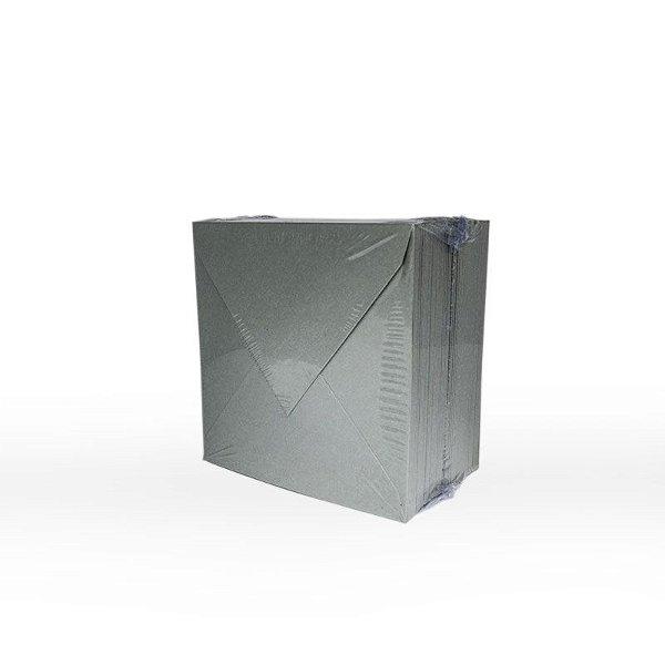 Lote 11 - Envelope Aba Bico 10x10 - 50 unid.
