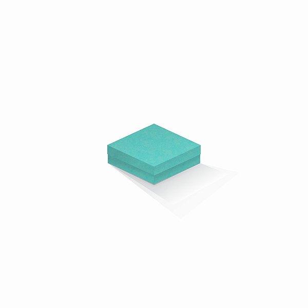 Caixa de presente   Quadrada Color Plus Aruba 10,5x10,5x4,0