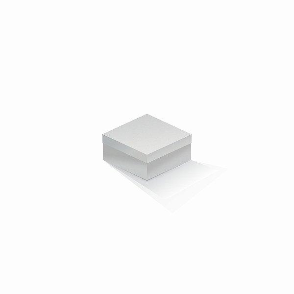 Caixa de presente | Quadrada Color Plus Alaska 10,5x10,5x6,0
