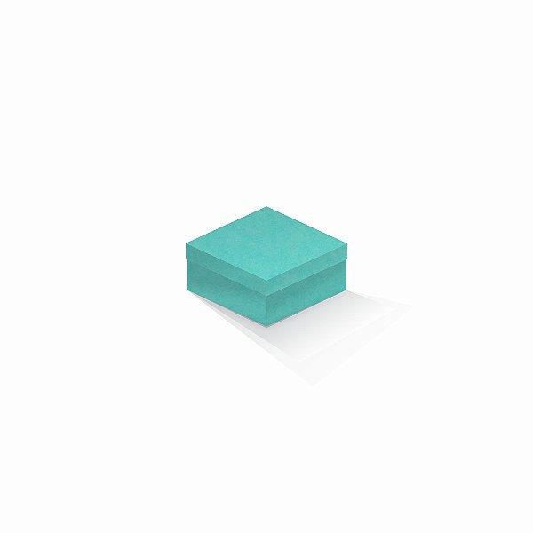 Caixa de presente | Quadrada Color Plus Aruba 10,5x10,5x6,0