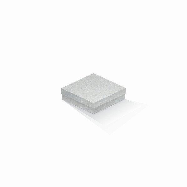 Caixa de presente | Quadrada Color Plus Metálico Aspen 12,0x12,0x4,0