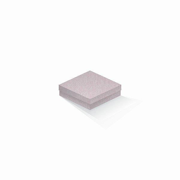 Caixa de presente | Quadrada Color Plus Metálico Ibiza 12,0x12,0x4,0