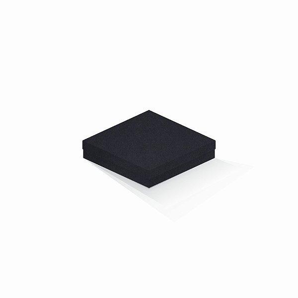 Caixa de presente | Quadrada F Card Scuro Preto 15,5x15,5x4,0