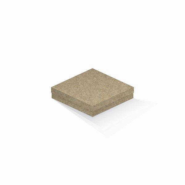 Caixa de presente | Quadrada Kraft 15,5x15,5x4,0