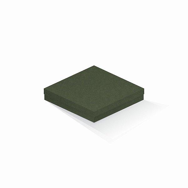 Caixa de presente | Quadrada F Card Scuro Verde 18,5x18,5x4,0