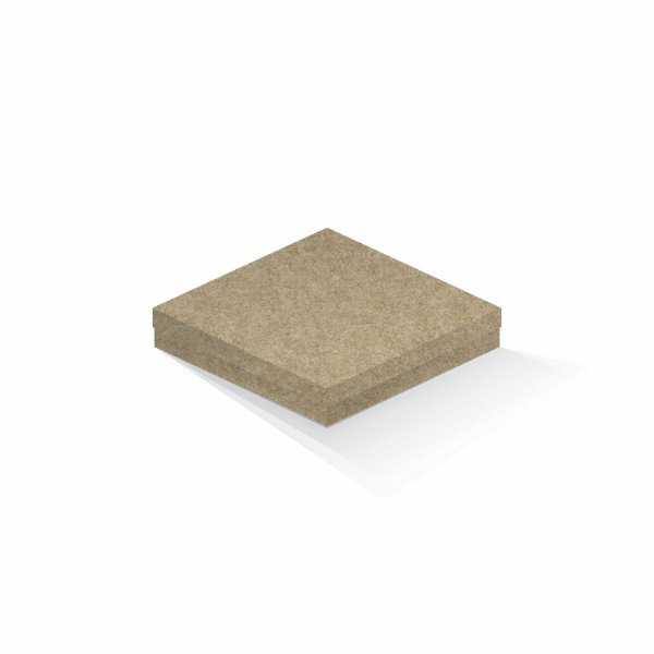 Caixa de presente | Quadrada Kraft 18,5x18,5x4,0