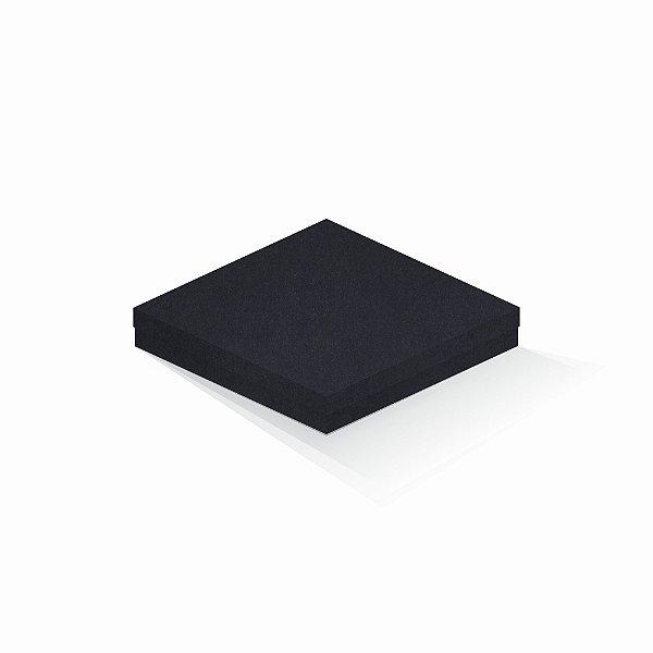 Caixa de presente   Quadrada F Card Scuro Preto 20,5x20,5x4,0
