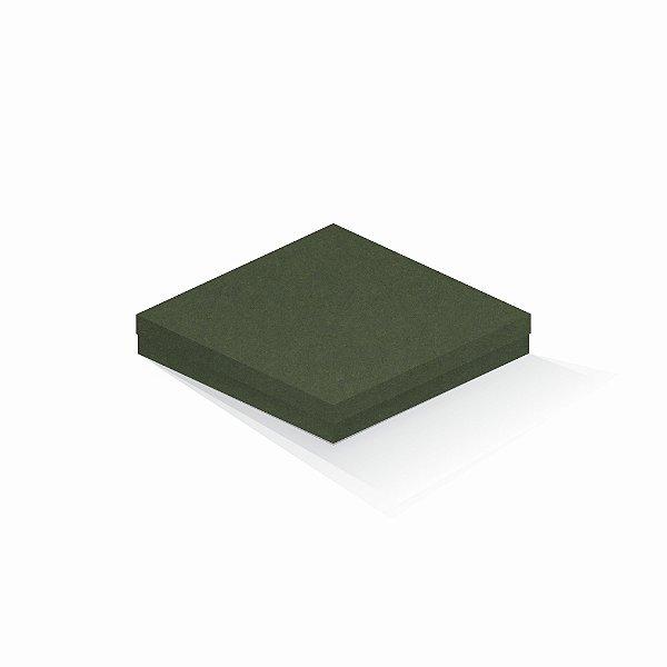Caixa de presente | Quadrada F Card Scuro Verde 20,5x20,5x4,0