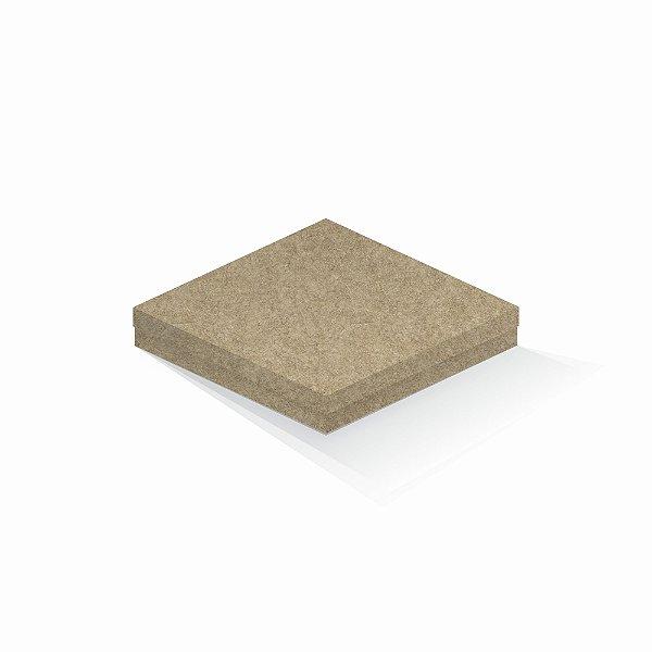 Caixa de presente | Quadrada Kraft 20,5x20,5x4,0