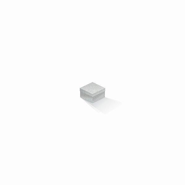 Caixa de presente | Quadrada Color Plus Metálico Aspen 5,0x5,0x3,5