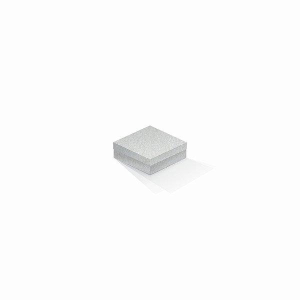 Caixa de presente | Quadrada Color Plus Metálico Aspen 8,5x8,5x3,5