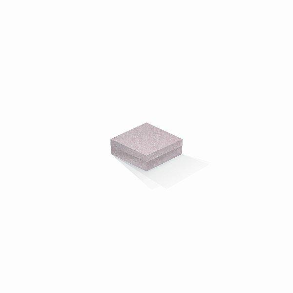 Caixa de presente | Quadrada Color Plus Metálico Ibiza 8,5x8,5x3,5