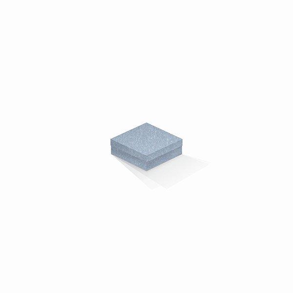 Caixa de presente | Quadrada Color Plus Metálico Mar Del Plata 8,5x8,5x3,5