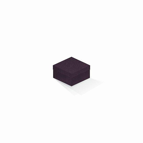Caixa de presente | Quadrada Color Plus Mendoza 9,0x9,0x6,0