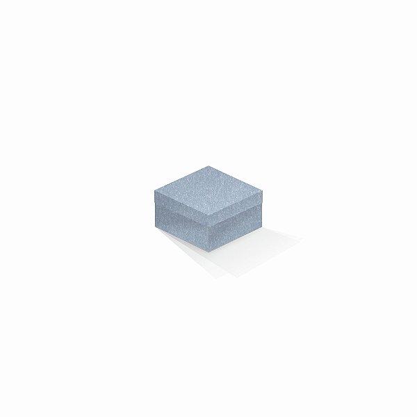 Caixa de presente | Quadrada Color Plus Metálico Mar Del Plata 9,0x9,0x6,0