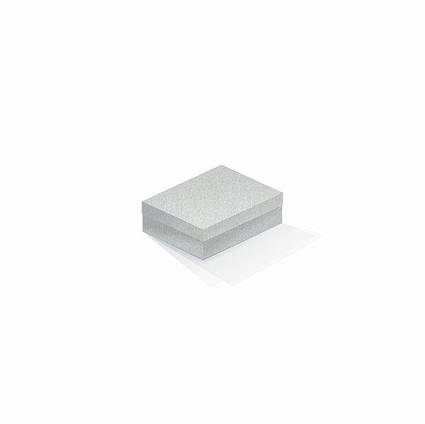 Caixa de presente | Retângulo Color Plus Metálico Aspen 10,0x13,0x3,5