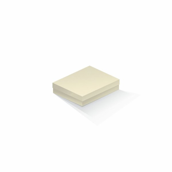Caixa de presente   Retângulo Color Plus Marfim 12,0x15,0x4,0