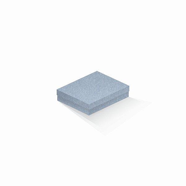 Caixa de presente | Retângulo Color Plus Metálico Mar Del Plata 12,0x15,0x4,0