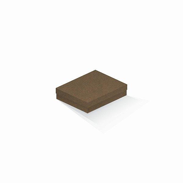 Caixa de presente | Retângulo F Card Scuro Marrom 12,0x15,0x4,0