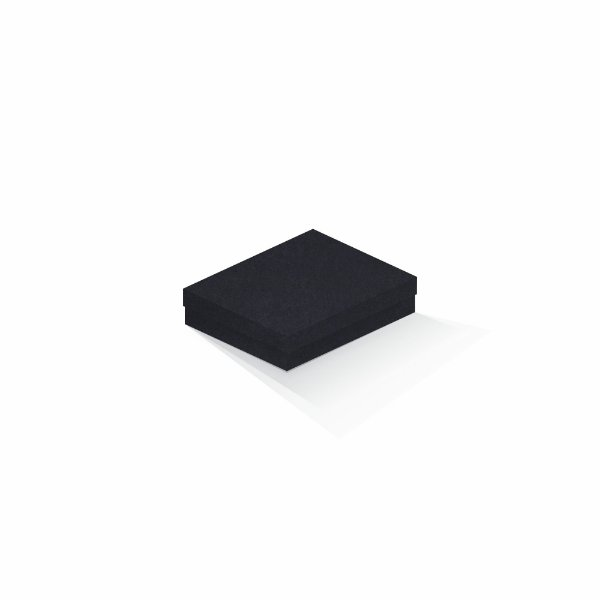 Caixa de presente   Retângulo F Card Scuro Preto 12,0x15,0x4,0