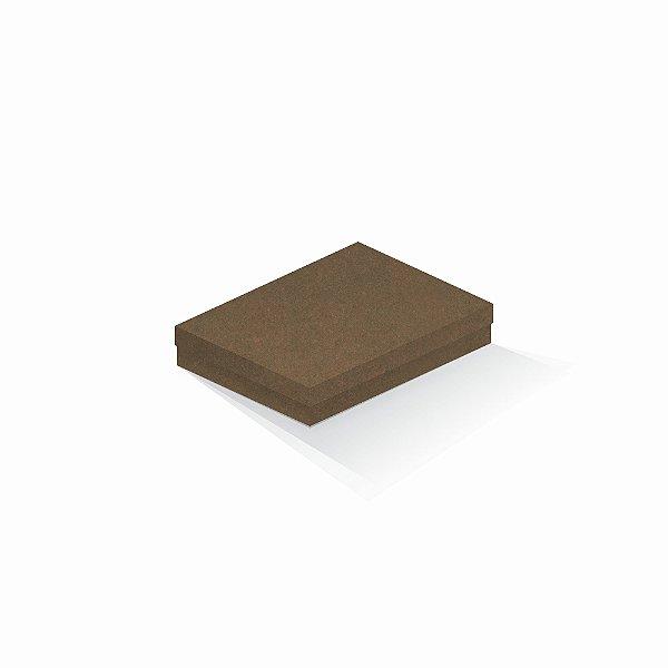 Caixa de presente | Retângulo F Card Scuro Marrom 14,0x19,0x4,0