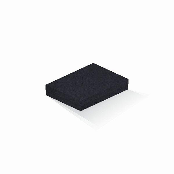 Caixa de presente   Retângulo F Card Scuro Preto 14,0x19,0x4,0
