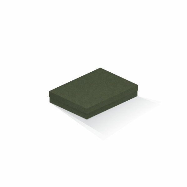 Caixa de presente | Retângulo F Card Scuro Verde 14,0x19,0x4,0