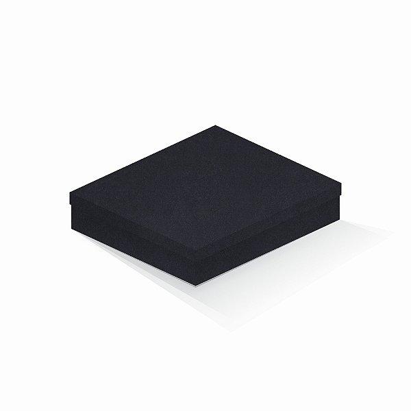 Caixa de presente | Retângulo F Card Scuro Preto 21,7x27,7x5,0