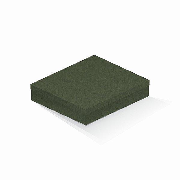 Caixa de presente | Retângulo F Card Scuro Verde 21,7x27,7x5,0