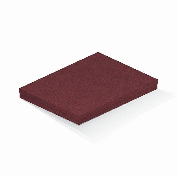 Caixa de presente   Retângulo F Card Scuro Vermelho 23,5x31,0x3,5