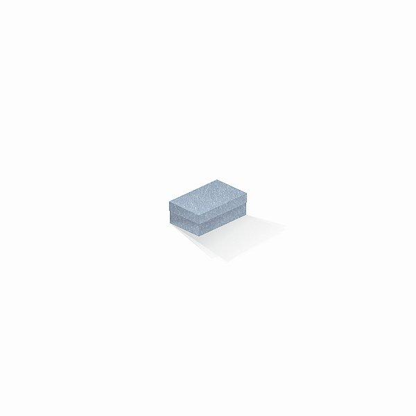 Caixa de presente | Retângulo Color Plus Metálico Mar Del Plata 5,0x8,0x3,5