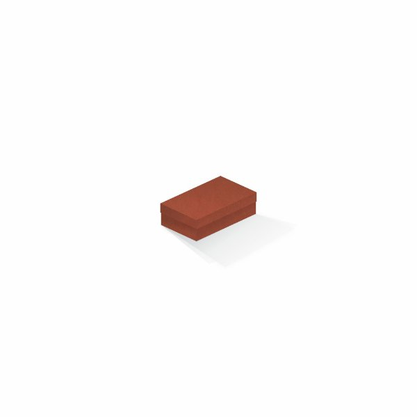 Caixa de presente   Retângulo F Card Scuro Laranja 6,0x10,0x3,5
